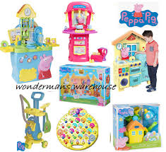 peppa pig kitchen toys figures playsets brand new boxed ebay
