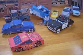 Papercraft CARS Movie Vehicles