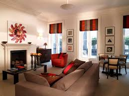 red and brown living room decorating ideas modern house