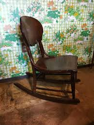 Lot # 9 - Small Antique Rocking Chair - (32