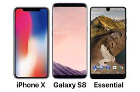 "The ""not really bezel less"" wars iPhone X vs Samsung Galaxy S8 vs"