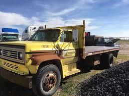 100 Used Headache Racks For Semi Trucks 1982 Nice Knapheid 18 FT Flat Bed With Scissor Hoist And