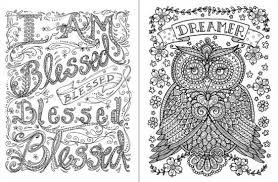 Posh Adult Coloring Book Inspirational Quotes For Fun Relaxation Deborah Muller