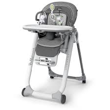 Chicco Polly Progress Relax High Chair Silhouette Gray