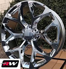 100 24 Inch Truck Rims 20 X9 Inch RW 5668 Wheels For GMC Chrome 6x1397 6x550