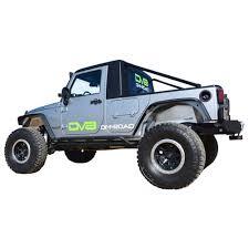 100 Jeep Wrangler Truck Conversion Kit DV8 OffRoad For Black