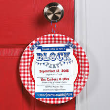 Free Halloween Potluck Invitation by Neighborhood Block Party Invitation Idea This Diy Invitation Is