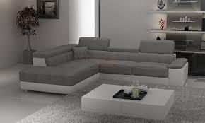 canapé tissu canap d angle reversible noir blanc