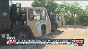 Garbage Trucks For Sale At Tulsa City Surplus Auction - YouTube