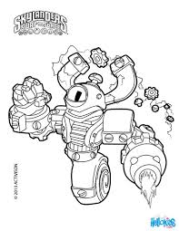 Free Printable Skylanders Swap Force Here Magna Charge Coloring Page