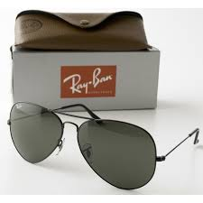 Aviator Wing Desk Uk by Rayban Aviator Sunglasses Black Frame With 58mm G 15 Lens