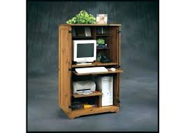 Sauder Harbor View Computer Desk Salt Oak by Armoire Harbor View Armoire Edge Water Computer Desk Craft