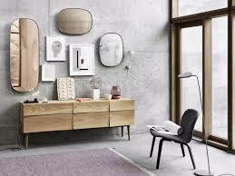 spiegel wohnzimmer framed muuto retro kombinieren kommode