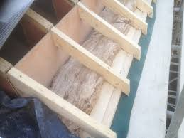 Insulate Cathedral Ceiling Without Ridge Vent by Short 2x4 Rafter Tails Were Scabbed Onto The Eaves The Scabbed On