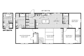 1997 16x80 Mobile Home Floor Plans by Models Giles Industries