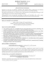 Dentist Resume Template Dental Assistant Examples Professional