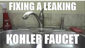 Kohler Forte Kitchen Faucet Diverter by Fixing A Leaking Faucet By Replacing The O U0027ring And Cartridge From