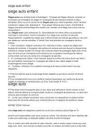 siege auto enfant obligatoire siege auto enfant 20130203 035346