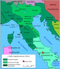 Italian Peninsula Under Napoleon