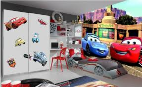 decoration chambre garcon cars disney cars 2 poster papier peint 360x254 cm disney cars