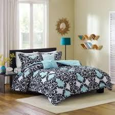 Anthology Bungalow Bedding by Anthology Kaya Reversible Comforter Set In Blue Future Home