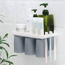 bad zahnbürstenhalter wand ohne bohren wandhalterung elektrische zahnbürste zahnbürsten halterung zahnputzhalter toothbrush holder badezimmer hängend