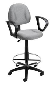 Desk Chair With Arms And Wheels by Bedroom Enchanting Office Chair Design With Comfy Grey Drafting