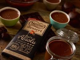 recettes de desserts au chocolat noir la table à dessert