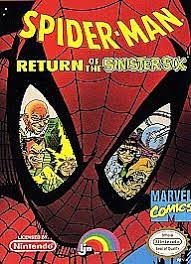 Spider Man Return Of The Sinister Six Nintendo Entertainment System 1992