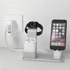 apple bureau yfw de charge de bureau dock apple accessoires montage titulaire