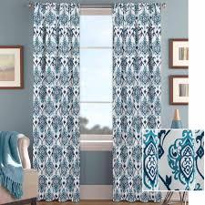 Walmart Yellow Chevron Curtains by Curtain Charming Home Interior Accessories Ideas With Cute Blue