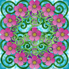 Peace Symbol Coloring Page Mandalas Mandalas Arte De Papel Et