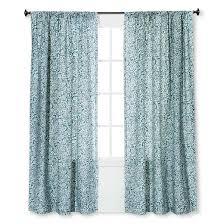 floral paisley window curtain panel threshold target