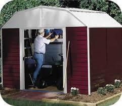 arrow galvanized steel storage shed 10x8 barn 10x8 arrow backyard metal storage shed kit rh108