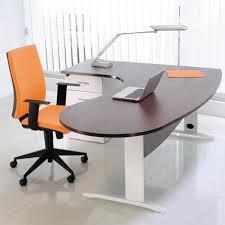 bureau couleur wengé bureau professionnel angle à gauche 200x110x72 cm coloris blanc et