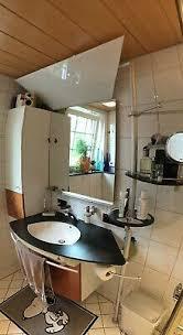 badezimmer komplett set weiß mahagoni anthrazit spiegel