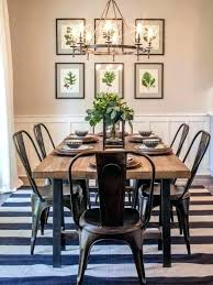 Industrial Farmhouse Table Audacious Dining Room Tables Concept Ideas Black Furniture Set