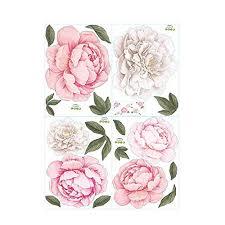 wandtattoo schlafzimmer wohnzimmer blume pink rosa sticker