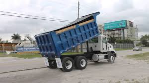 Ready To Make You Money! International Tandem Axle Dump Truck - YouTube