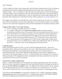 SSA POMS RM 315 Dear Colleague Letter from SSA to