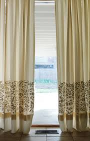 Vertical Striped Curtains Panels by Diy Thursday Appliqué Curtains Alabama Chanin Journal