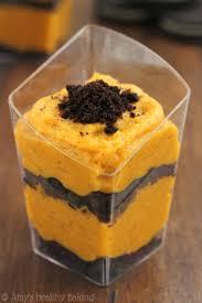 Easy Pumpkin Desserts by Oreo U0026 Pumpkin Pudding Parfaits Amy U0027s Healthy Baking