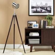 Photographers Tripod Floor Lamp Bronze Finish by Silver Floor Lamps For Less Overstock Com