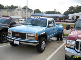 1993 Light Quasar Blue Metallic GMC Sierra 3500 SLE Crew Cab 4x4 ... 2011 Gmc Sierra 3500 Denali Hd Lifted Dually Trucks For 2000 Gmc 1 Ton Diesel For Saleabsolutely Inside 1950 Pickup Jim Carter Truck Parts Allnew Duramax 66l Is Our Most Powerful Ever 3500hd Wins Best Overall 2007 Classic Sle1 Biscayne Auto Sales Preowned 1990 K3500 K30 4x4 Dually Ton Cummins Diesel 5 Speed Manual No 1994 Dually Truck Sale In Rigby Idaho United States Gm Unveils 2019 Slt Pickup Mega X 2 6 Door Dodge Door Ford Chev Mega Cab Six Debuts Before Fall Onsale Date Sle Xtra