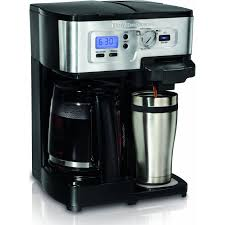 Hamilton 2 Way Beach Flexbrew Electric Coffee Maker Black