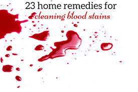 Remove Blood Stain From Carpet by Home Remedies For Cleaning Blood Stains