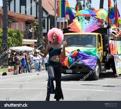 100 Gay Truck LONG BEACH MAY 20 Man Marching Stock Photo Edit Now 103137320