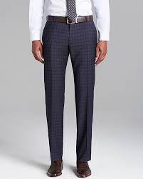 hugo plaid suit hugo hugo himmer check suit trousers regular fit where to
