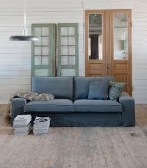 kivik 3 seat sofa cover loose fit urban in rosendal pure washed