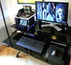 ordinateur de bureau pour gamer bureau pour pc gamer le des geeks et des gamers